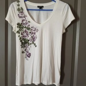 Express top/worn once Smoke and Pet free home